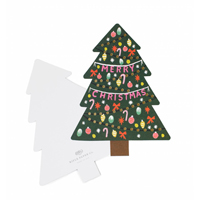 Senaste nytt Kort med kuvert, Christmas Tree