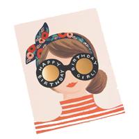 Senaste nytt Kort med kuvert, Birthday Girl
