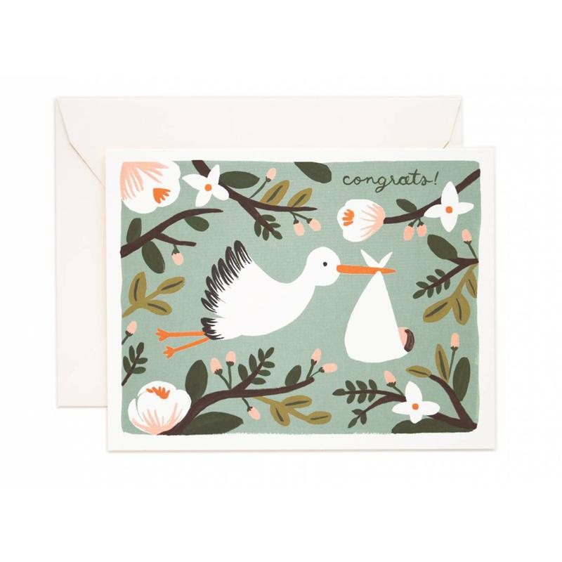 a10671x.jpg - Kort med kuvert, Congrats Stork - Elsashem Butiken med det lilla extra...