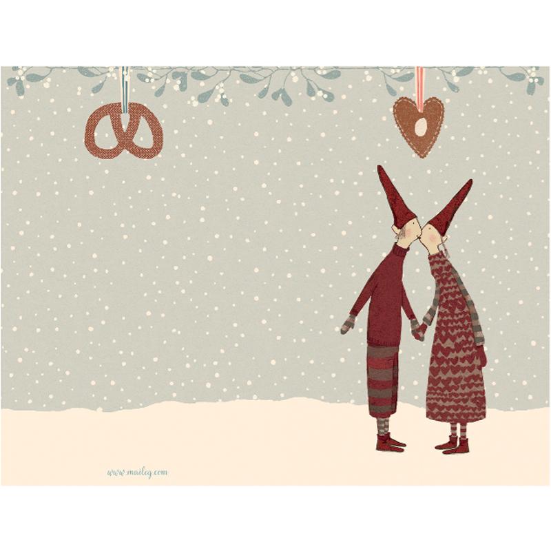 a10690x.jpg - Kort med kuvert, Pixy Kiss Small - Elsashem Butiken med det lilla extra...