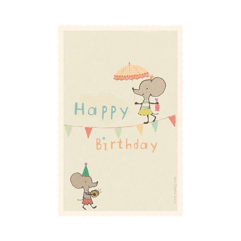 a10747x.jpg - Kort med kuvert, Linedancer mouse - Elsashem Butiken med det lilla extra...