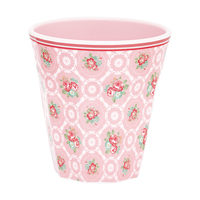 Senaste nytt Melamine mug Smilla, Pale pink