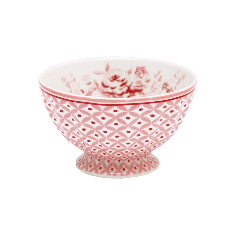 a11002x.jpg - Skål Abelone, Raspberry medium - Elsashem Butiken med det lilla extra...