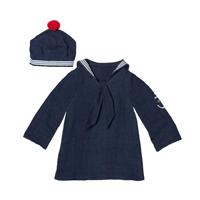 Senaste nytt Sjömansskjorta med mössa, Mega Maxi