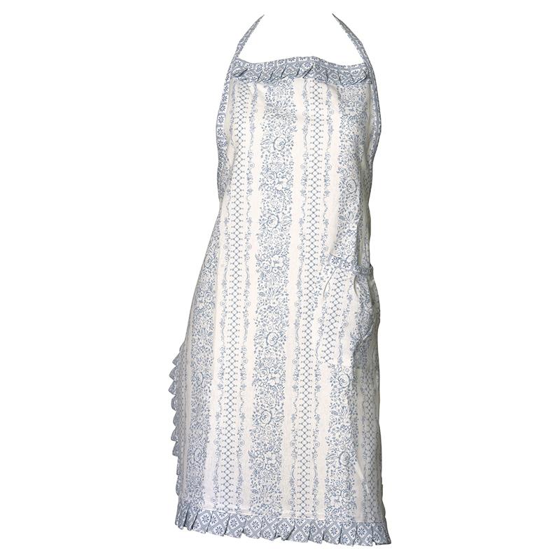 a11351x.jpg - Förkläde Jenny, Dusty blue w/frill - Elsashem Butiken med det lilla extra...