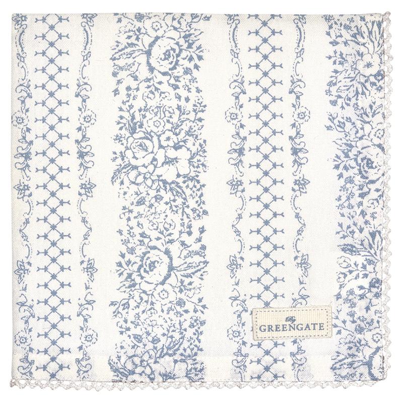 a11379x.jpg - Servett Jenny, Dusty blue - Elsashem Butiken med det lilla extra...