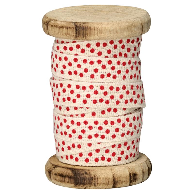 a11396x.jpg - Rulle med band Spot, Red - Elsashem Butiken med det lilla extra...