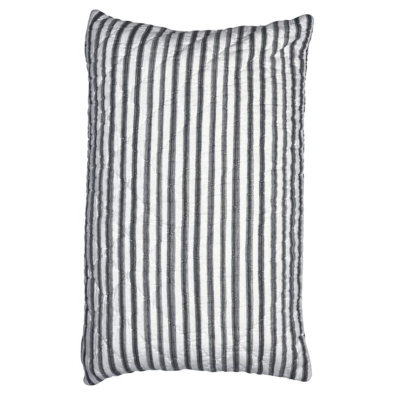 a11461x.jpg - Kuddfodral Amanda, Dark grey stripe - Elsashem Butiken med det lilla extra...