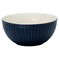 Senaste nytt Cereal bowl Alice, Dark blue