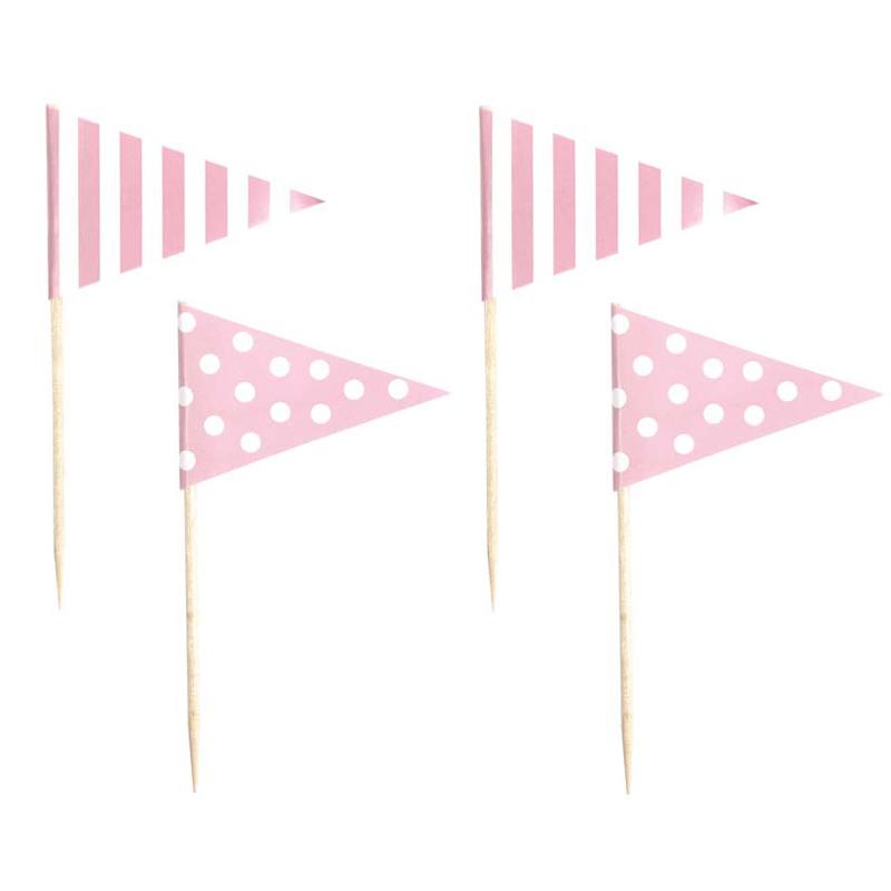 a11579x.jpg - Partypicks, Ljusrosa - Elsashem Butiken med det lilla extra...
