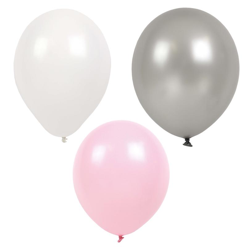 a11590x.jpg - Ballonger, Ljusrosa - Elsashem Butiken med det lilla extra...