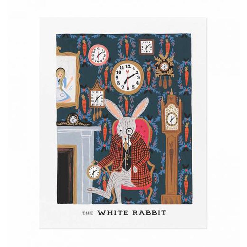a11649x.jpg - Plansch, White Rabbit - Elsashem Butiken med det lilla extra...