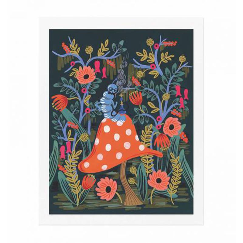 a11650x.jpg - Plansch, Absolem The Caterpillar - Elsashem Butiken med det lilla extra...