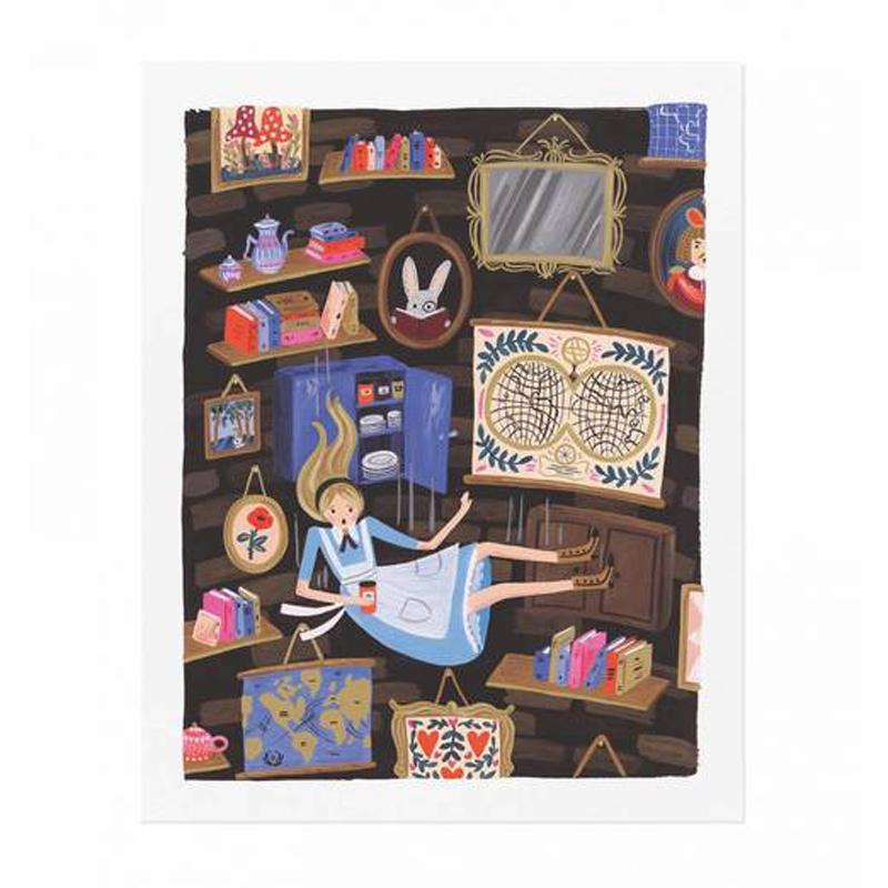a11651x.jpg - Plansch, Alice Falling - Elsashem Butiken med det lilla extra...