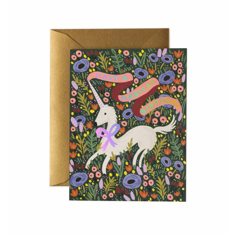 a11676x.jpg - Kort med kuvert, Magical Birthday Card - Elsashem Butiken med det lilla extra...