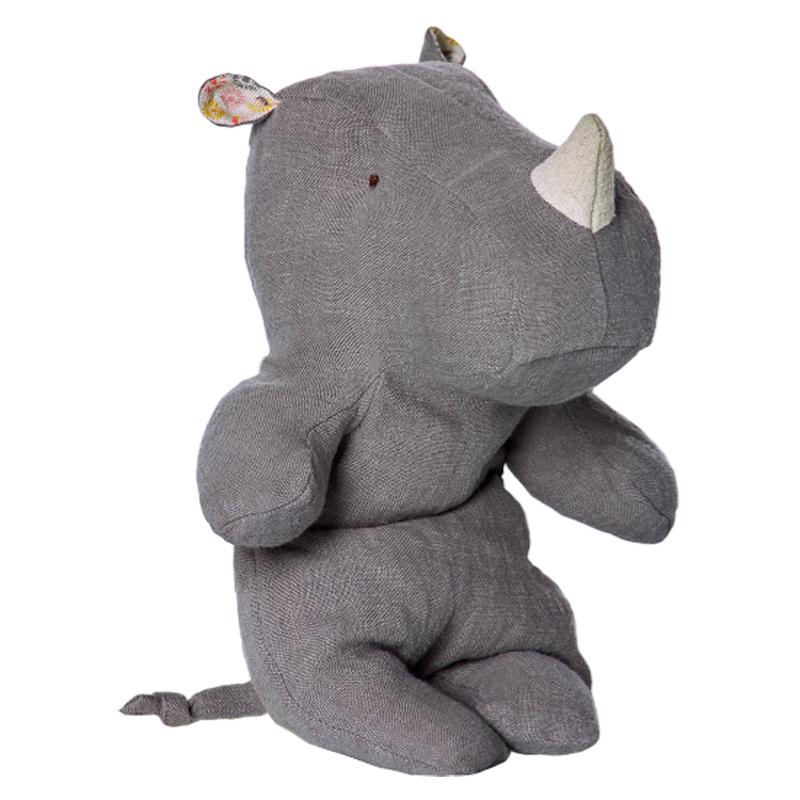 a11763x.jpg - Safari friends, Little Rhino Grey - Elsashem Butiken med det lilla extra...