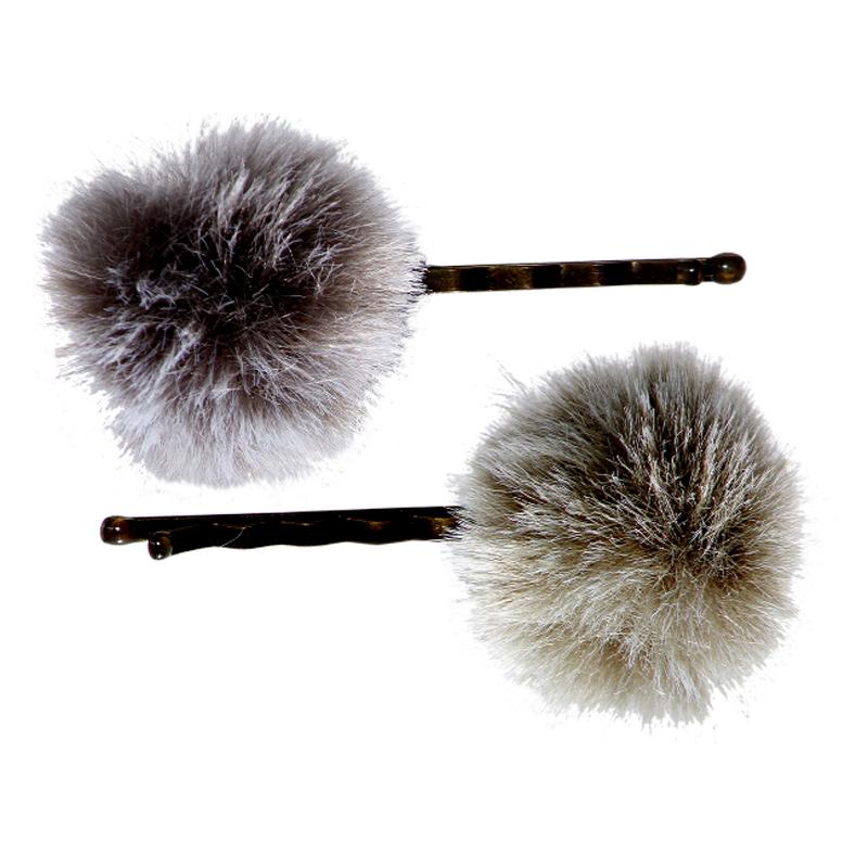a11824x.jpg - Set med 2 hårspännen, Grey/Dusty Green - Elsashem Butiken med det lilla extra...