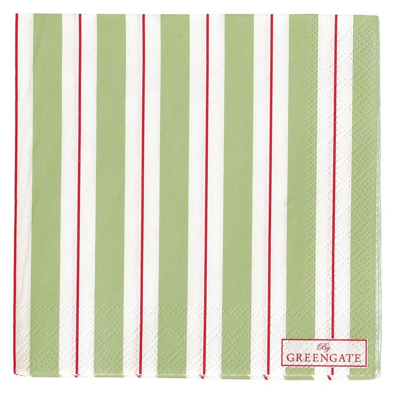 a11984x.jpg - Servetter Elinor, Green small - Elsashem Butiken med det lilla extra...