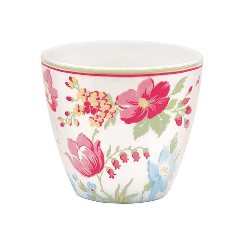 a12054x.jpg - Lattemugg Donna, White - Elsashem Butiken med det lilla extra...