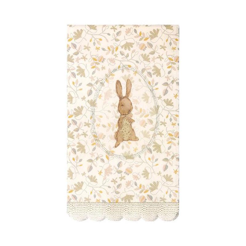 a12144x.jpg - Servetter, Romantic Bunny - Elsashem Butiken med det lilla extra...