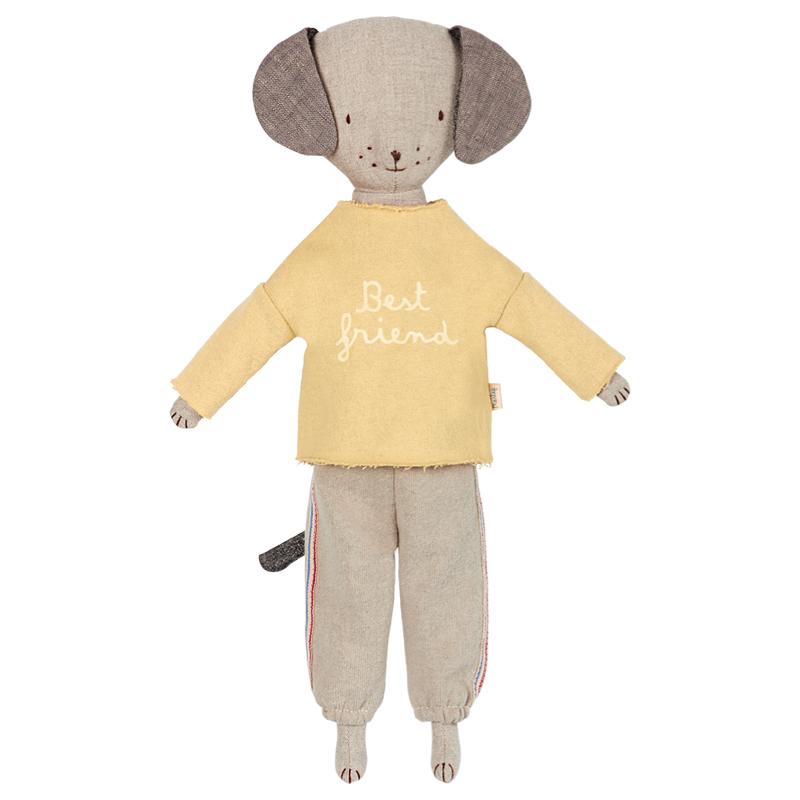 a12195-2x.jpg - Best Friends, Jogging suit Yellow - Elsashem Butiken med det lilla extra...