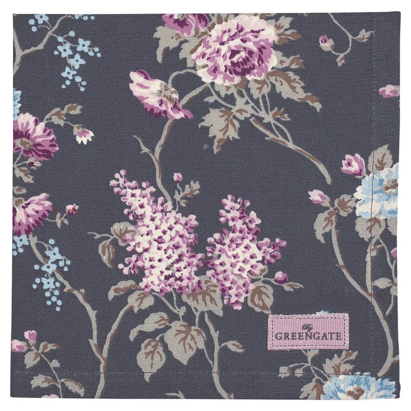a12297x.jpg - Servett Maude, Dark grey - Elsashem Butiken med det lilla extra...