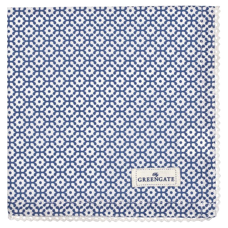 a12303x.jpg - Servett Jasmina, Blue - Elsashem Butiken med det lilla extra...