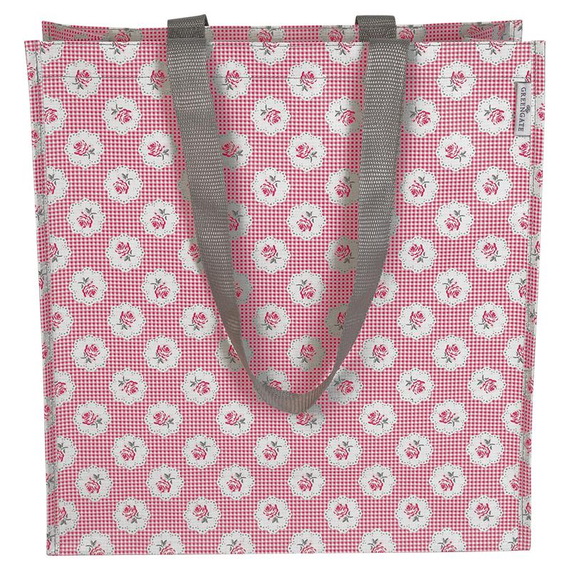 a12319x.jpg - Shopper bag Tammie, Red - Elsashem Butiken med det lilla extra...