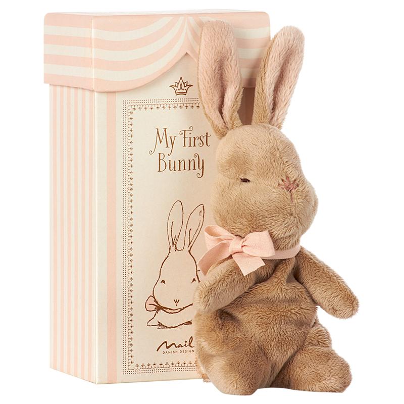 a12393x.jpg - My First Bunny in box, Rose - Elsashem Butiken med det lilla extra...