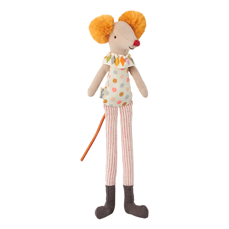 a12397x.jpg - Mus, Clown med långa ben - Elsashem Butiken med det lilla extra...