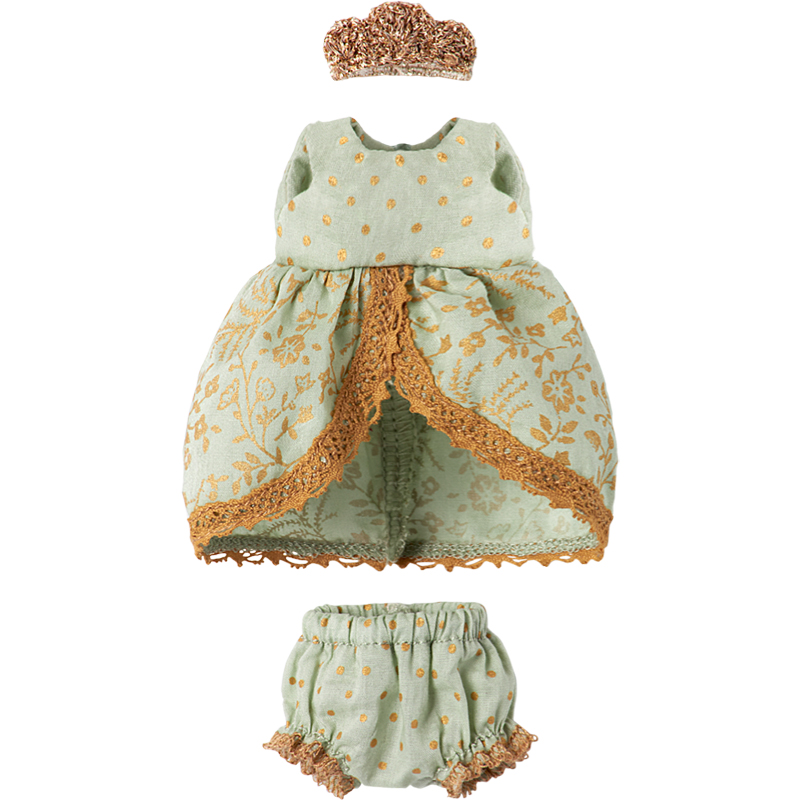 a12408x.jpg - Princess dress Mint, Micro and mouse - Elsashem Butiken med det lilla extra...
