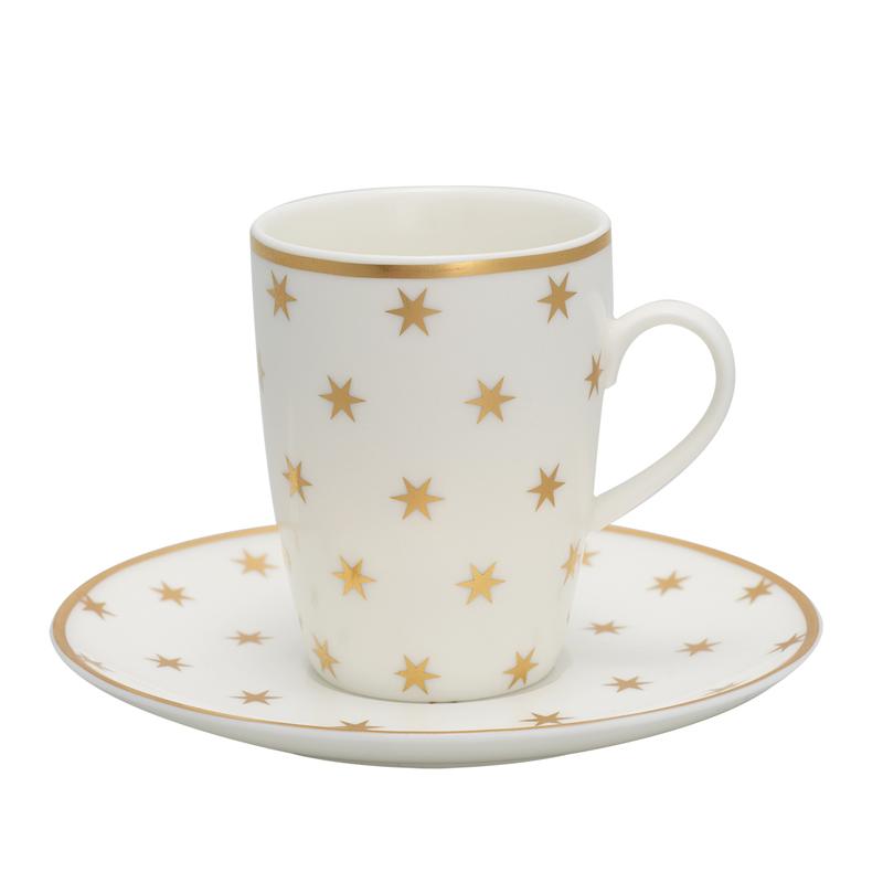 a12467x.jpg - Espresso Kopp med fat, Nova Gold - Elsashem Butiken med det lilla extra...