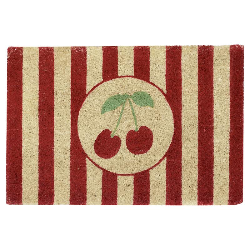 a12547x.jpg - Doormat Cherry, White - Elsashem Butiken med det lilla extra...