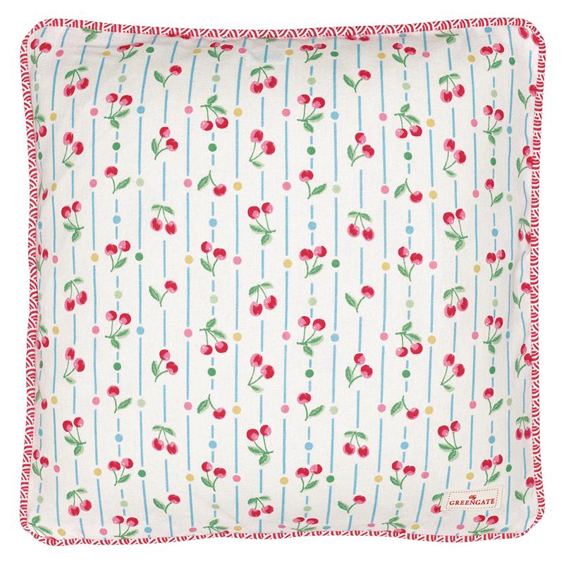 a12564x.jpg - Kuddfodral Cherry, White - Elsashem Butiken med det lilla extra...