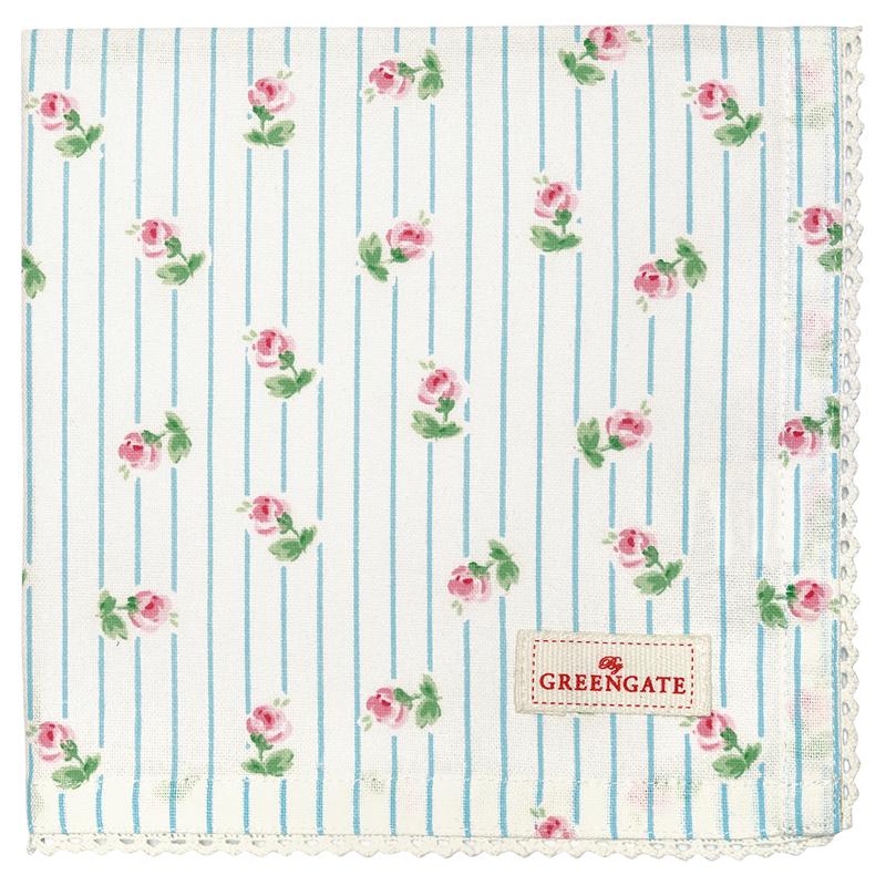 a12588x.jpg - Servett Lily, White - Elsashem Butiken med det lilla extra...