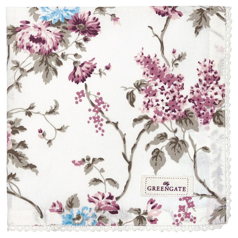 a12589x.jpg - Servett Maude, White - Elsashem Butiken med det lilla extra...