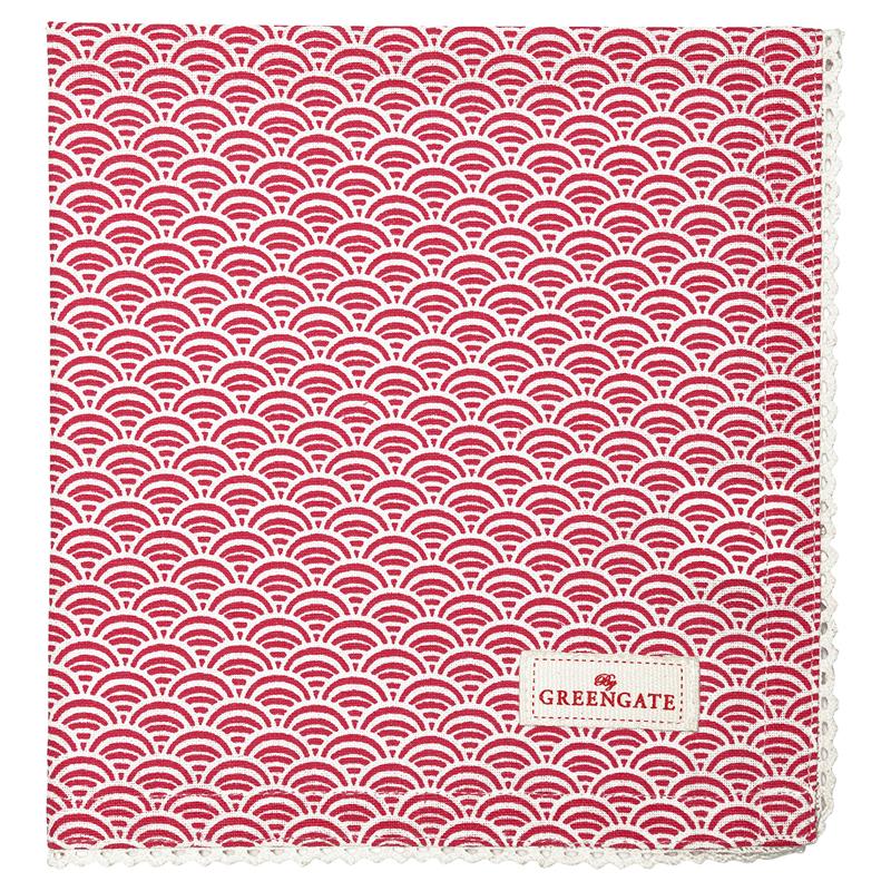 a12592x.jpg - Servett Nancy, Red - Elsashem Butiken med det lilla extra...