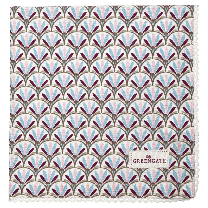 a12593x.jpg - Servett Victoria, White - Elsashem Butiken med det lilla extra...