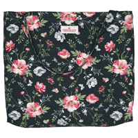 Senaste nytt Cotton shopper Meadow, Black