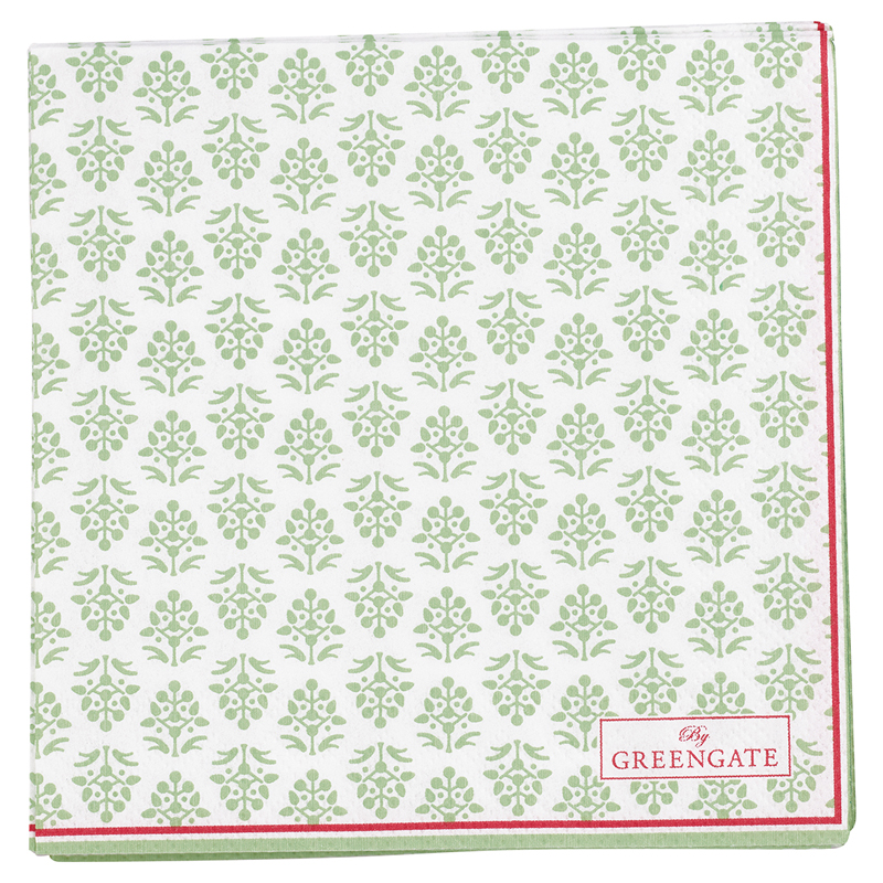 a12684x.jpg - Servetter Ashley, Green small - Elsashem Butiken med det lilla extra...