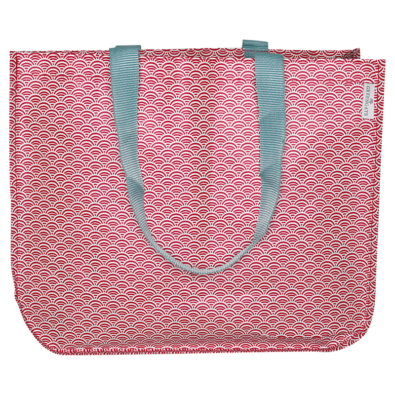 a12696x.jpg - Shopper bag Nancy, Red - Elsashem Butiken med det lilla extra...