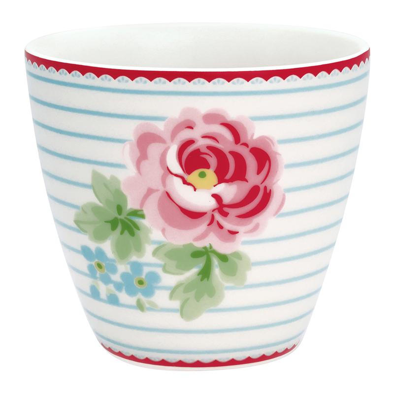 a12760x.jpg - Lattemugg Lily, White - Elsashem Butiken med det lilla extra...