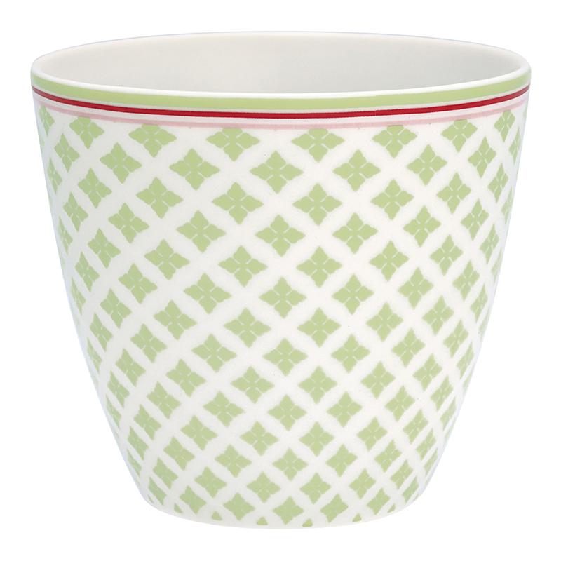 a12767x.jpg - Lattemugg Sascha, Green - Elsashem Butiken med det lilla extra...