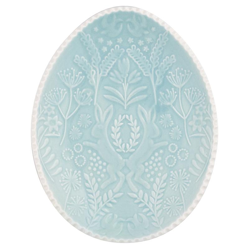 a12777x.jpg - Oval plate, Pale green - Elsashem Butiken med det lilla extra...