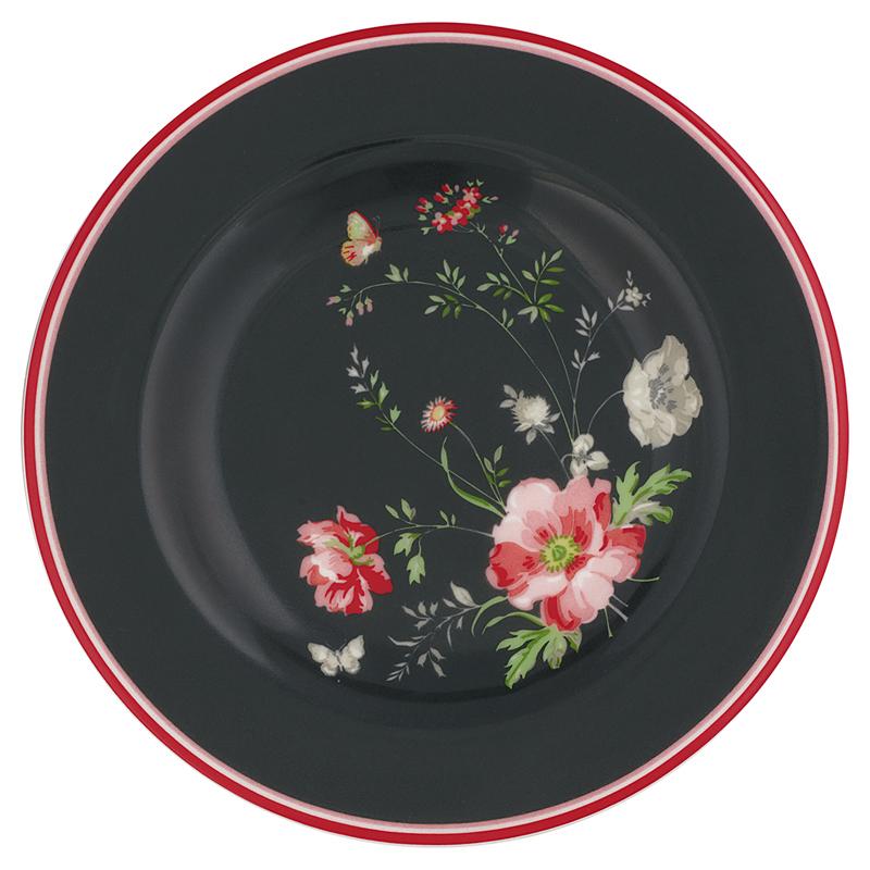 a12784x.jpg - Liten assiette Meadow, Black - Elsashem Butiken med det lilla extra...