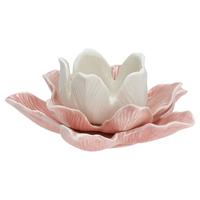 Senaste nytt Ljusstake Flower, Pale pink