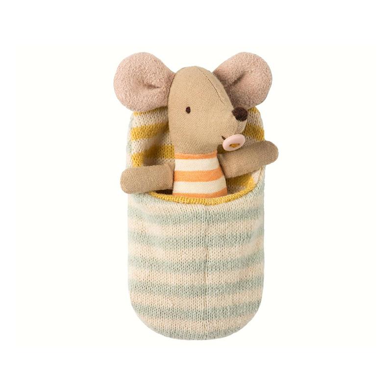 Sovsäck till mus, Peach | Elsashem Butiken med det lilla