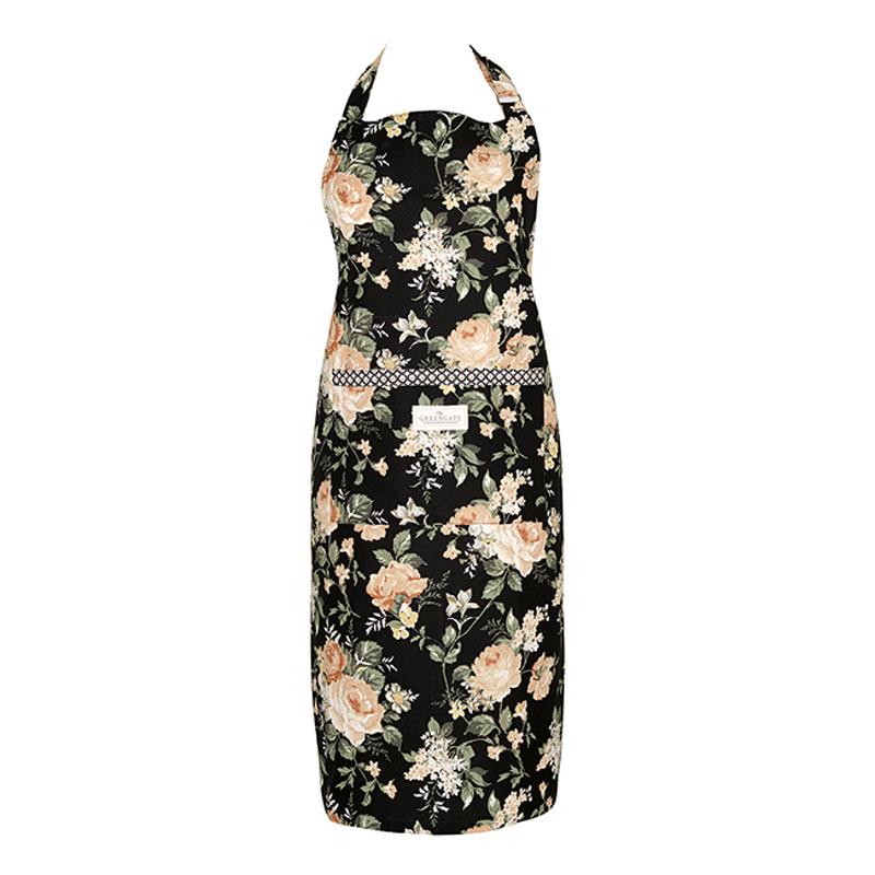 a12942x.jpg - Förkläde Josephine, Black - Elsashem Butiken med det lilla extra...
