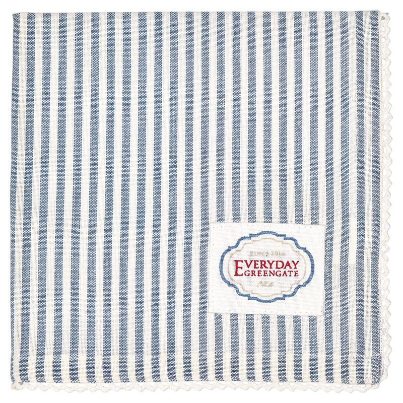 a12961x.jpg - Servett Alice Stripe, Blue - Elsashem Butiken med det lilla extra...