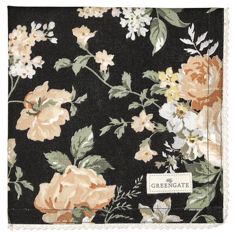 a12972x.jpg - Servett Josephine, Black - Elsashem Butiken med det lilla extra...